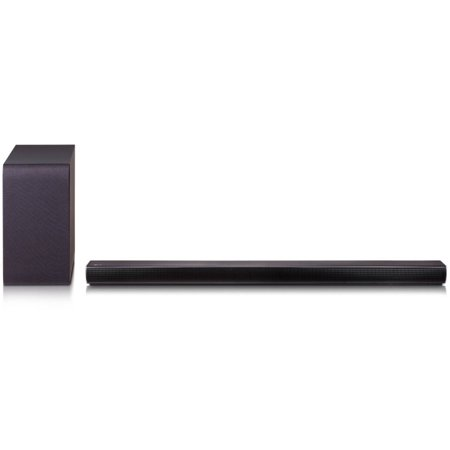 LG 2.1ch Sound Bar 320W Wireless Active Subwoofer (SH5B)