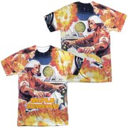 Atari - Missle Commander (Front/Back Print) - Short Sleeve Shirt - XX-Large