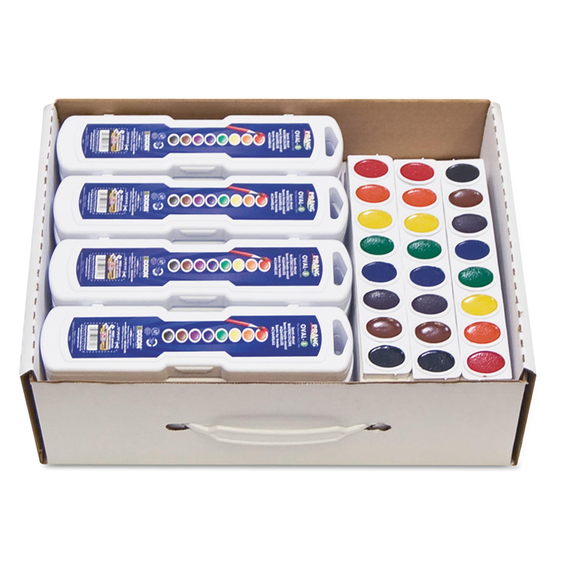 Prang Professional Watercolors, 8 Assorted Colors,Masterpack, 36/Set
