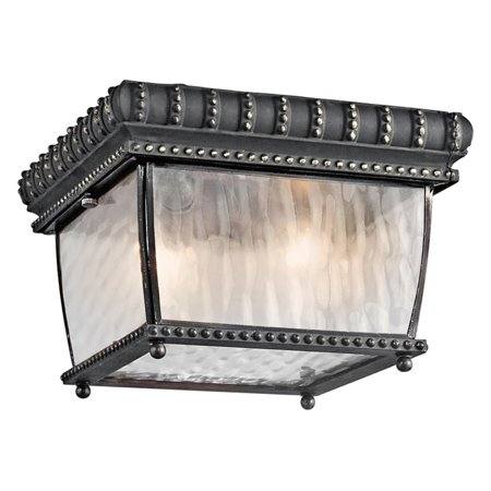 Kichler Venetian Rain 49136 Outdoor Ceiling - 9.25 in.
