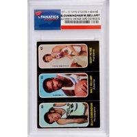 Billy Cunningham & Walt Bellamy Philadelphia 76ers 1971-72 Topps Stickers #40-41-42 Card