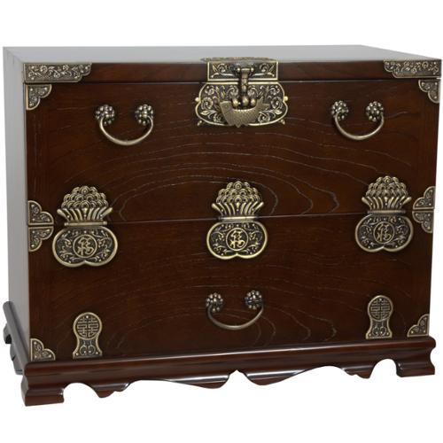 Oriental Home Handmade Korean Bandaji Antique Design Blanket Chest (Korea)
