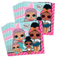 LOL Surprise Party Supplies Lunch Napkins (48)
