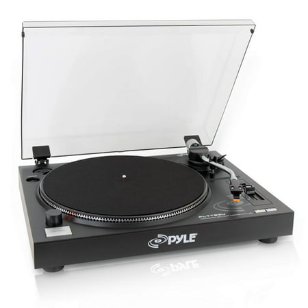 - PYLE PLTTB3U - Belt Drive USB Turntable with Digital Recording Software