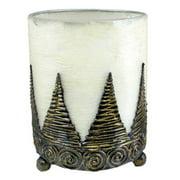 Stoneage Arts Hurricane Lantern Candleholder Handmade Conical (Indonesia)