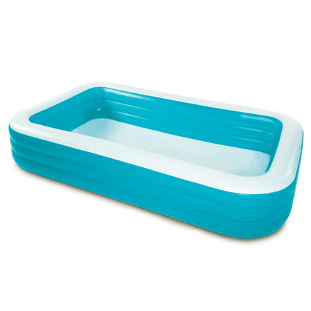 Play Day Rectangular Inflatable Family Pool, 120