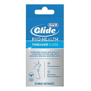 Glide Threader (Oral-B Glide Pro-Health Threader Floss 30.0 ea(pack of)