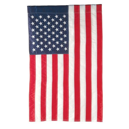 Evergreen Flag American Flag