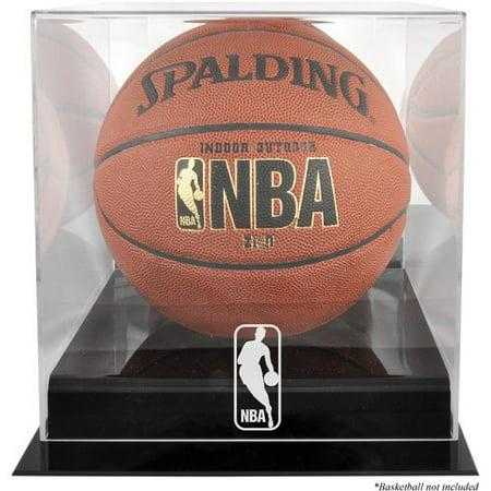 Basketball Display Case - Mounted Memories NBA Logo Basketball Display Case