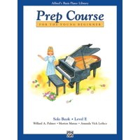 Alfred's Basic Piano Library Prep Course For The Young Beginner