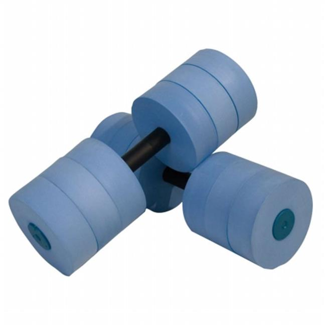 1 Pair 3 Colors Available VERISA Water Aerobic Exercise Foam Dumbbells Pool Resistance 1 Pair Water Fitness Exercises Equipment for Weight Loss Blue