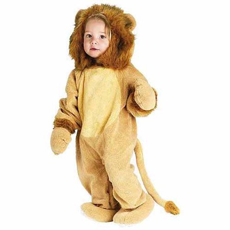 Cuddly Lion Toddler Halloween Costume, Size 3T-4T - Size 24 Costumes
