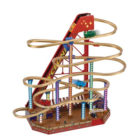 Mr. Christmas Animated Musical World's Fair Grand Roller (Scariest Roller Coaster In The World 2016)