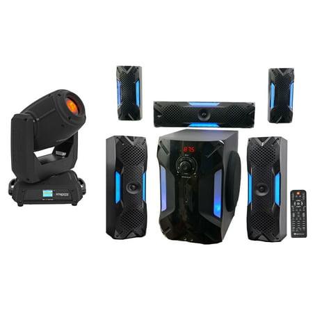Chauvet DJ Intimidator Spot 375Z IRC Moving Head Light+Free Home Theater System