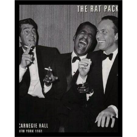 Buyartforless Framed The Rat Pack Frank Sinatra Sammy Davis Jr