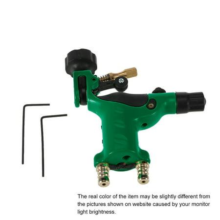 - Dragonfly Rotary Tattoo Machine 4 Colors Tattoo Motor Shader & Liner Tattoo Machine Tattoo Body Art Green