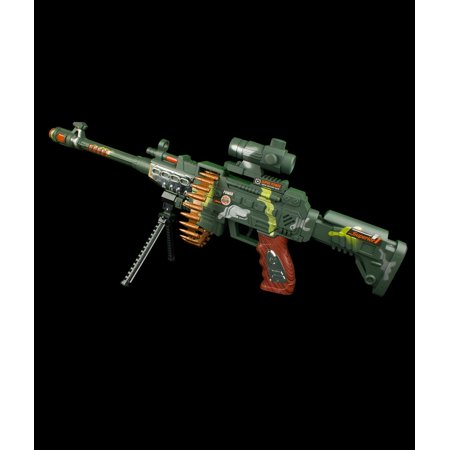 LED Light Up Camo Sniper Rifle Toy Gun by Blinkee for $<!---->