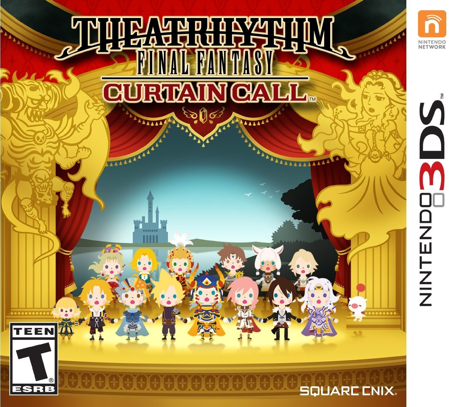 Theatrhythm Final Fantasy: Curtain Call - Nintendo 3DS, New content takes center stage: Includes songs and characters from recent releases including LIGHTNING.., By Square Enix