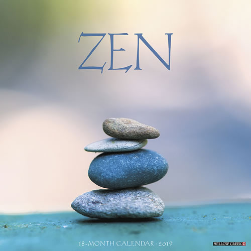 Willow Creek Press 2019 Zen Wall Calendar