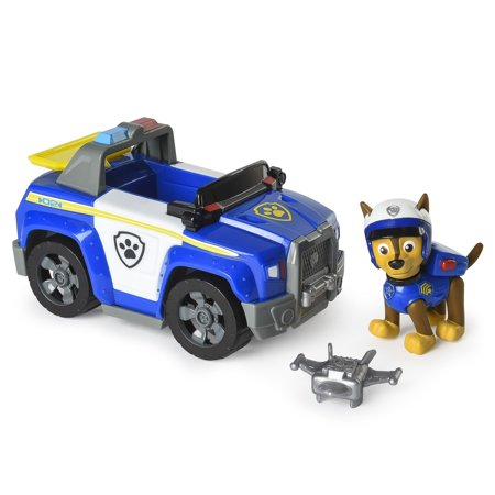 PAW Patrol – Chase's Highway Patrol Cruiser with Launcher and Chase Figure - Ryder From Paw Patrol