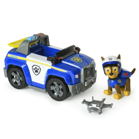 PAW Patrol – Chase's Highway Patrol Cruiser with Launcher and Chase Figure