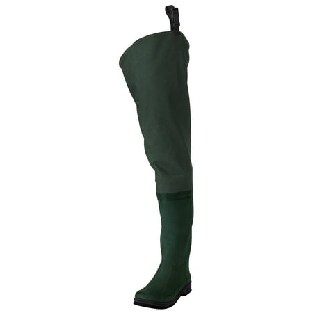 Frogg Toggs Cascades Bootfoot 2-ply Poly/Rubber Hip Wader -