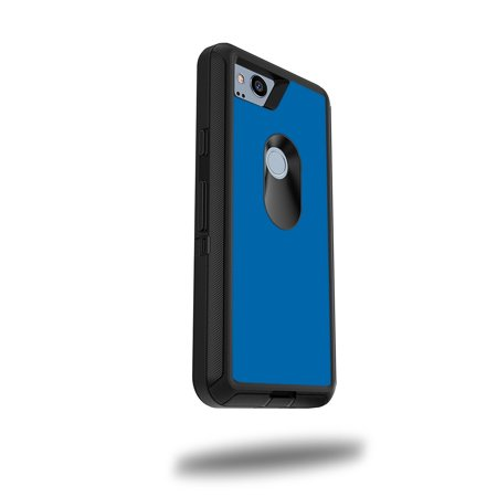 "MightySkins Skin For OtterBox Defender Google Pixel 2 5"" Case - Solid Baby Blue 