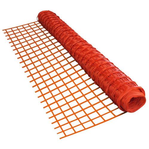 ALEKO SF9045OR4X100 Multipurpose Safety Fence Barrier 4' x 100' PVC Mesh Net Guard, Orange by ALEKO