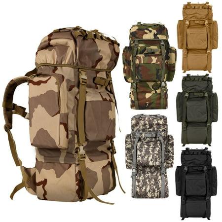 Outdoor Sport Bag Military Rucksack Multifunction Backpack Camping Hiking Trekking Bag 6 Colors