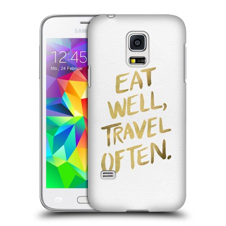 OFFICIAL CAT COQUILLETTE QUOTES TYPOGRAPHY 3 HARD BACK CASE FOR SAMSUNG PHONES 1