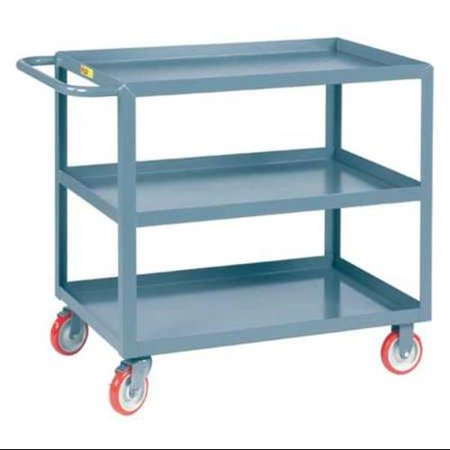 Little Giant Welded Utility Cart, Gray 3LGL-2436-BRK ()