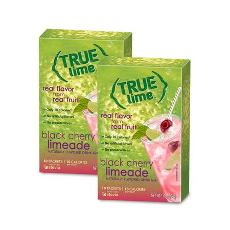 True Lime Black Cherry Limeade Drink Mix, 1.06 Oz., 10 (Cherry Mix)