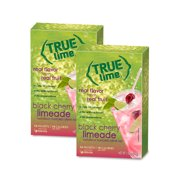 True Lime Black Cherry Limeade Drink Mix, 1.06 Oz., 10 Count