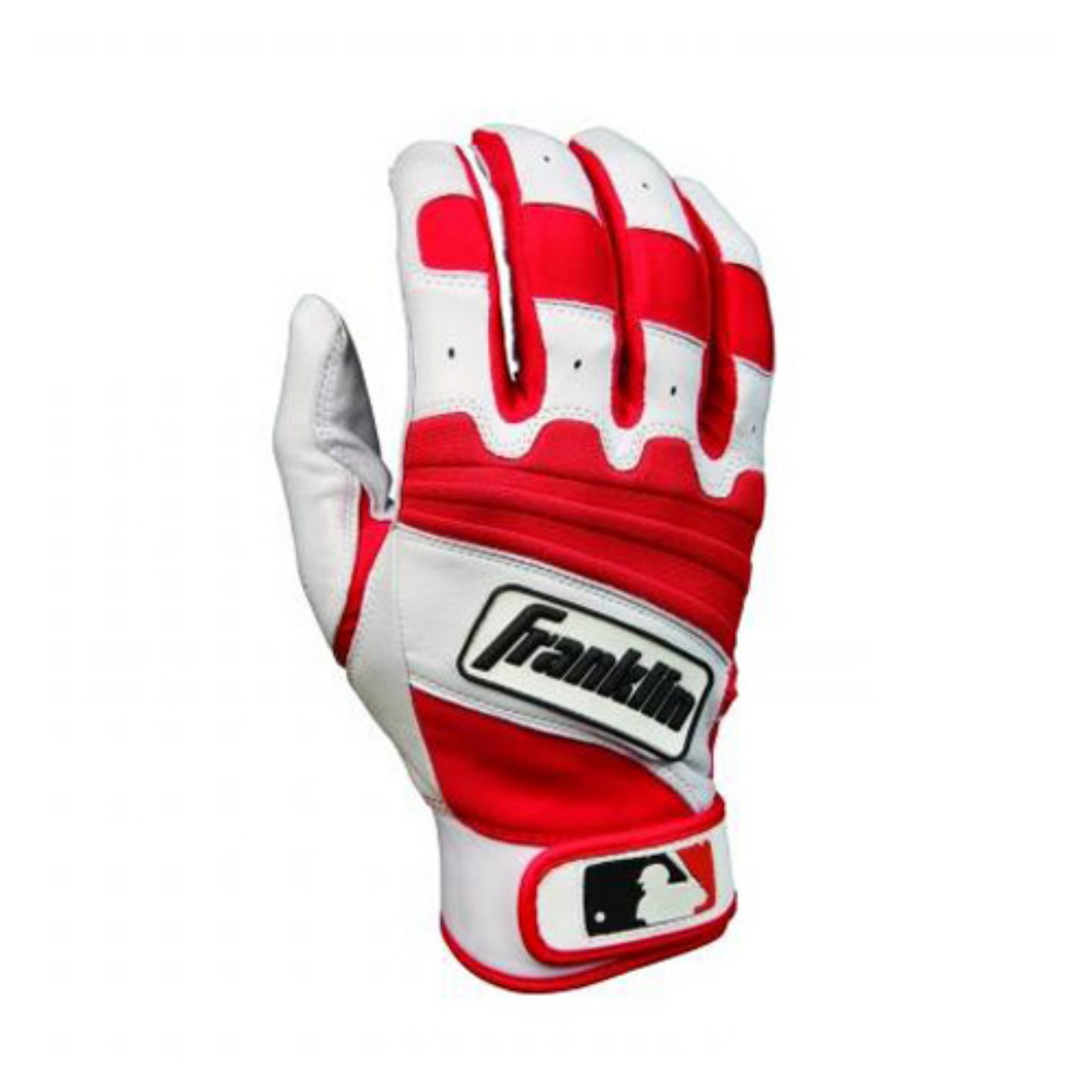 Franklin The Natural II Series Youth Batting Gloves - Pearl/Red