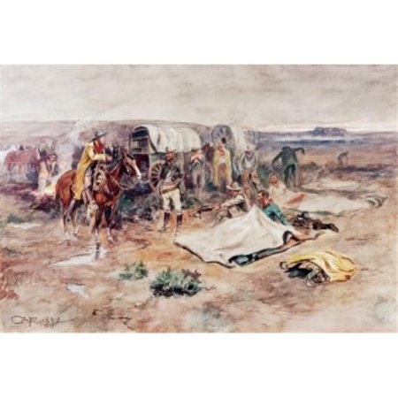 Posterazzi SAL900125834 Calling the Horses Charles Marion Russell 1865-1926 American Poster Print - 18 x 24 in. - image 1 of 1