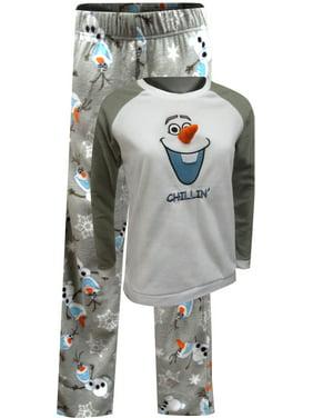 dc5412175f4a8 Product Image Disney Frozen Olaf Winter Fun Fleece Pajama