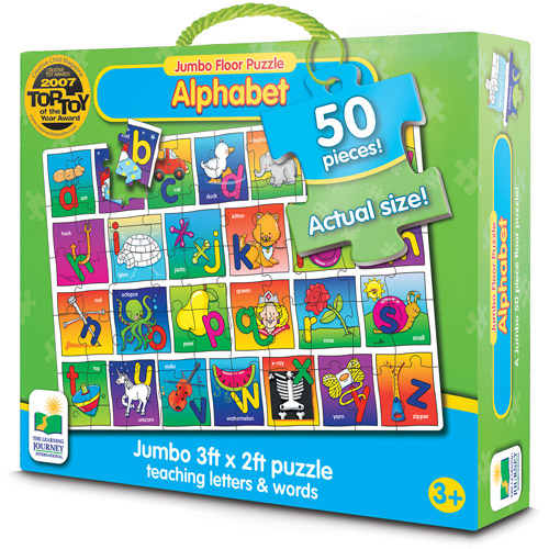 The Learning Journey Jumbo Floor Puzzles, Alphabet Floor Puzzle
