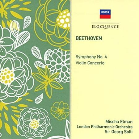 Beethoven: Symphony 4 / Violin Concerto (CD) (Best Of Beethoven Violin)
