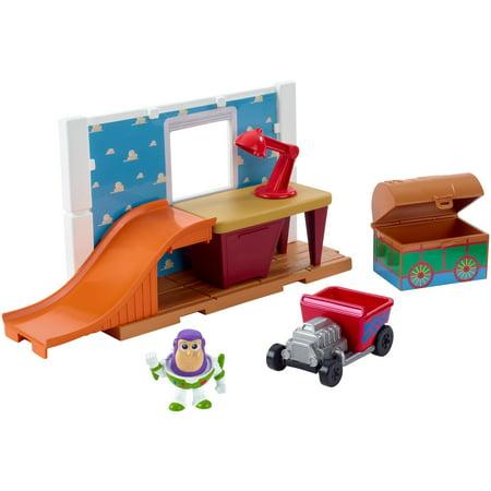 Mini Pvc Figure Set (Disney Pixar Toy Story Andy's Room Minis Set with Exclusive Figure )