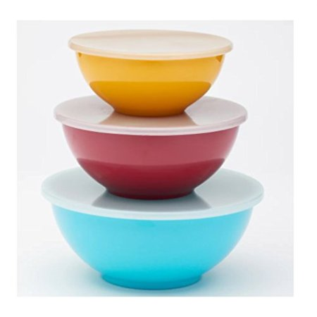 Food Network 3piece Nesting Melamine Mixing Bowl Set with Lids](Happy Halloween Food Network)