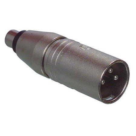 - Neutrik - NA2MPMF - 3-Pole XLR Male to RCA Female Adapter