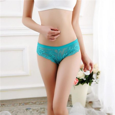 Women Sexy Lace Briefs Panties Thongs G-string Lingerie Underwear LB