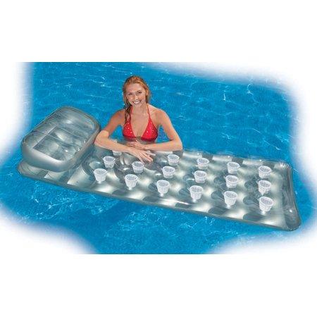Intex 18-Pocket Mattress Suntanner Pool Lounger w/ Headrest (2 Pack) | 58894EP - image 3 de 5