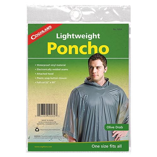 Poncho - Olive Drab
