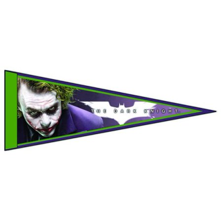 Dark Knight Joker Pennant, High quality wall art By NECA From