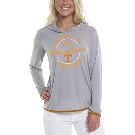 Women's Gray Tennessee Volunteers Mason Block Pullover (Tennessee Volunteers Neyland Stadium)
