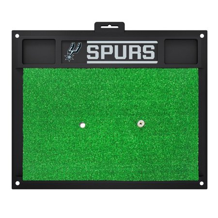 NBA San Antonio Spurs Golf Hitting Mat Golf Practice - Monster Mini Golf San Antonio