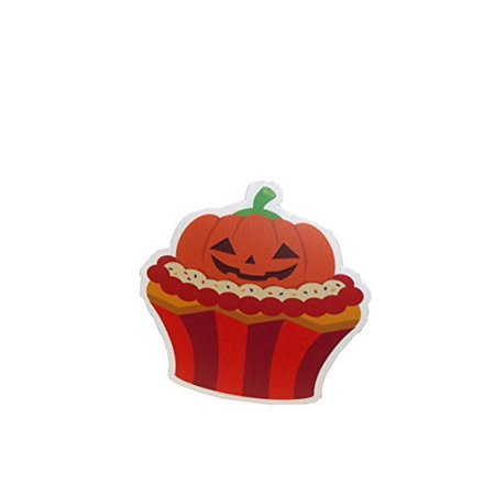 Halloween Cupcake Wall Decorations Pumpkin Cupcake](Cupcake Cones Halloween)