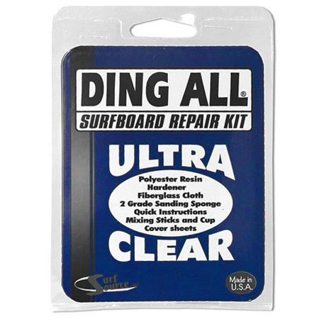 Standard (polyester) Repair Kit, Standard surfboard repair kit By Ding All from USA