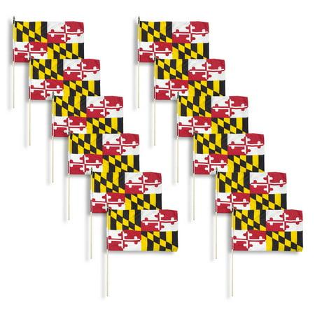 Maryland flag 12 x 18 inch - 12PK](Halloween Stores Maryland)